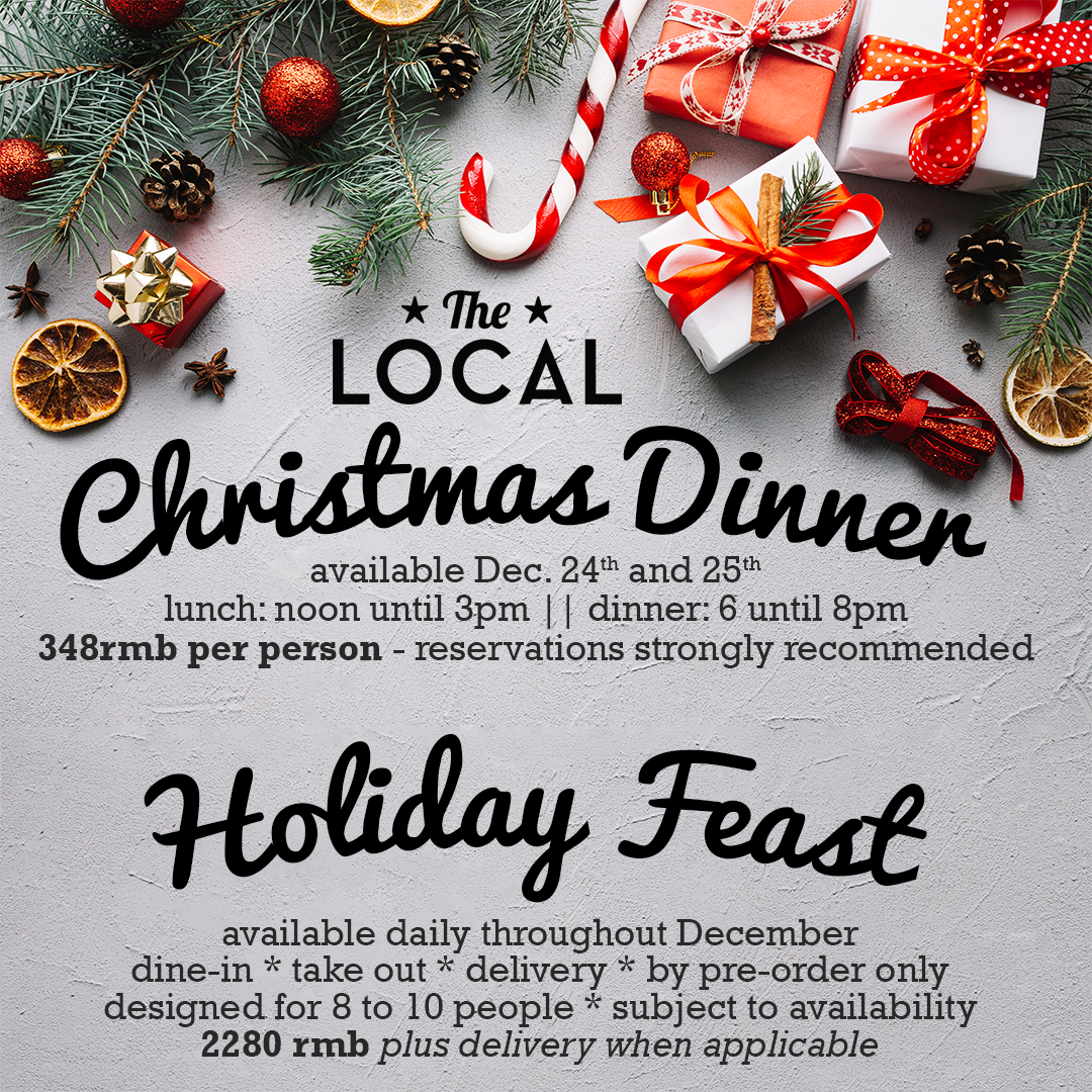 Holiday Dinner | The Local Bar & Grill